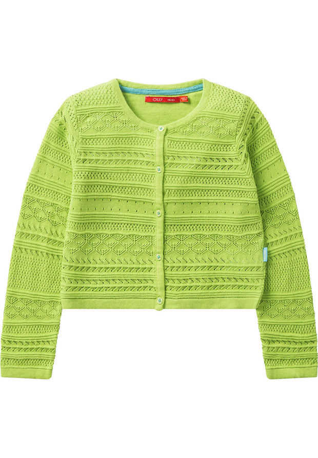 Girls Cotton Cardigan Kamala