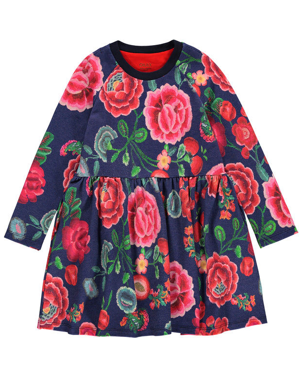 Twarrels dress Flower chintz-Oilily-104-Oilily.com
