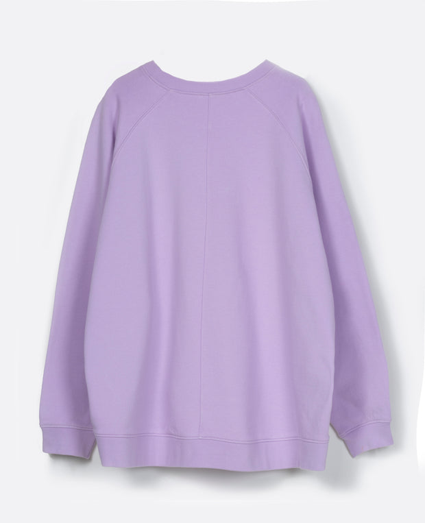 Tamale long sleeve sweat top 29 Orchid bloom