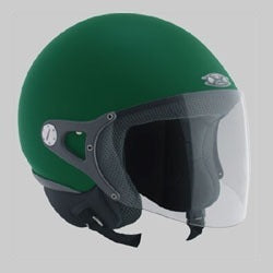 NEXX Pop Style Helmet Colour: British Racing Green Size: L -CLEARANCE
