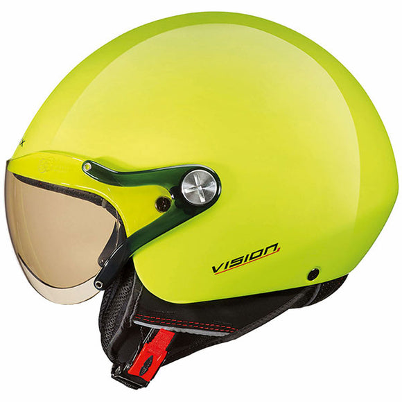 Nexx X60 Vision Plus Helmet Neon Yellow Open Face Motorcycle Crash Helmet Scooter Helmet 01x6024139