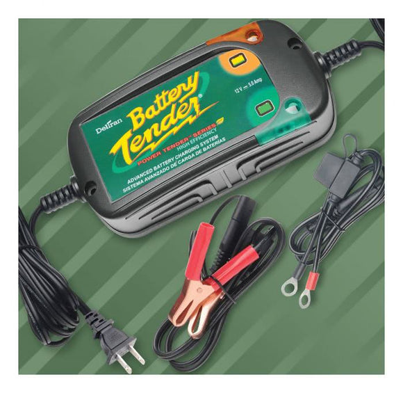 Battery Tender Power Tender Plus 5A Battery Charger -QBCHTEN05