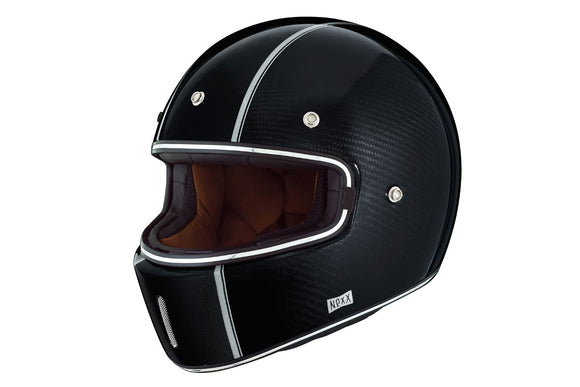 Nexx XG100 Motorcycle RACER CARBON Motorbike Crash Helmet - Black