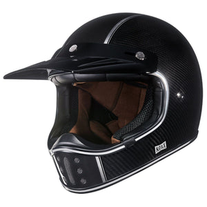 Nexx XG200 Carbon Motorcycle Crash Adventure Motorbike Helmet - 01XG223231551