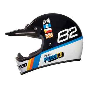 Nexx XG200 DUSTY FROG Helmet - Black/White