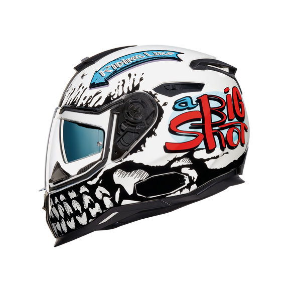 Nexx SX100 Motorbike Big Shot Motorcycle Crash Helmet -01SXF08196021