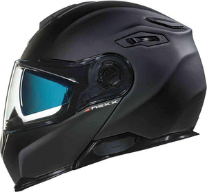 Nexx X.VILITUR PLAIN Motorbike crash Helmet motorbike Full-Face Race  - Black White Titanium X-Matrix composite construction European made top quality