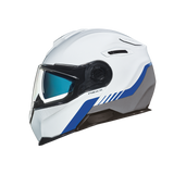 Nexx X.VILITUR LATITUDE Motorbike Full-Face Race Helmet - White / Blue