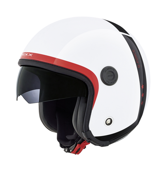 Nexx X70 G-Force White Motorcycle Helmet 01x7000157018 Discontinued for 2019 -get in quick!