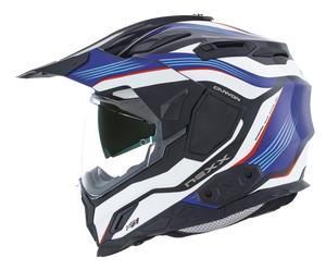Nexx XD1 Canyon Blue Motorcycle Helmet 01xd101156022