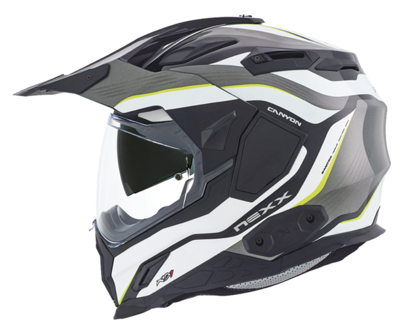 Nexx XD1 Canyon Neon Yellow Motorcycle Helmet 01xd101156013