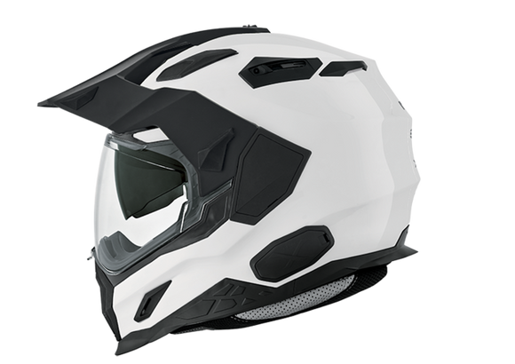 Nexx XD1 Plain Artic White Motorcycle Helmet 01xds00001