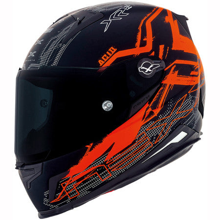 Nexx XR2 Acid Neon Orange MT Motorcycle Helmet 01xr201155621