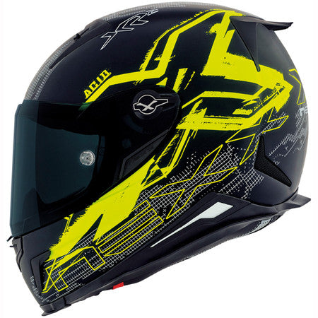 Nexx XR2 Acid Neon Yellow Motorcycle Helmet 01xr201155620