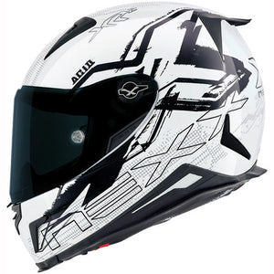 Nexx XR2 Acid White Motorcycle Helmet 01xr200155018