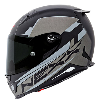 Nexx XR2 Fuel Black/ Titanium Motorcycle Helmet 01xr201126137