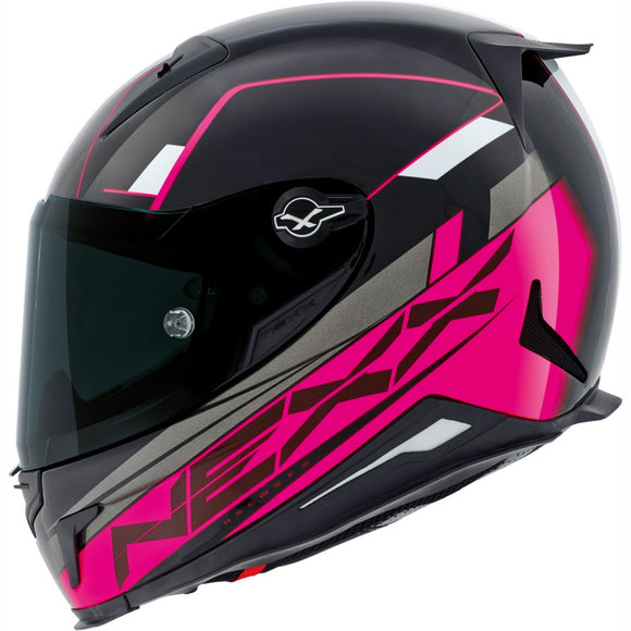 Nexx XR2 Fuel Fuschia Motorcycle Helmet 01xr201126554