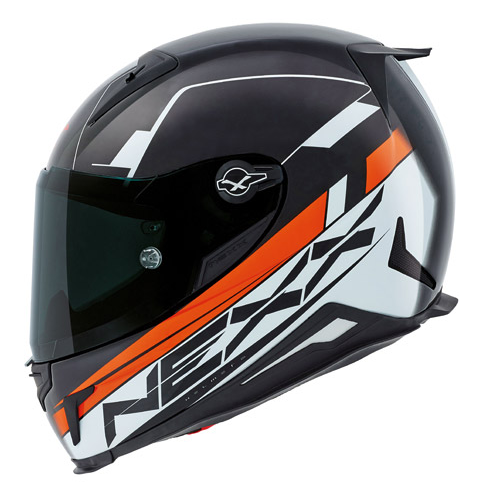 Nexx XR2 Fuel Orange Motorcycle Helmet 01xr201126031
