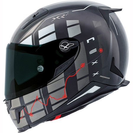 Nexx XR2 Virus Black Motorcycle Helmet 01xr201125020