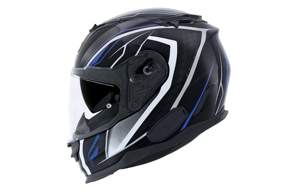 Nexx XT1 Hunter Blue Motorcycle Helmet 01xt101129022