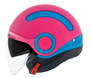 Nexx SWITX SX10 Motorcycle Crash Helmet Motorbike Fun Collection Blue Explosion / Magenta MT 01sx151006