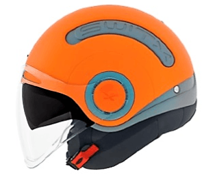 Nexx SWITX SX10 Motorcycle Crash Helmet Motorbike Helmet Fun Collection Light Concrete / Orange MT 01sx152010