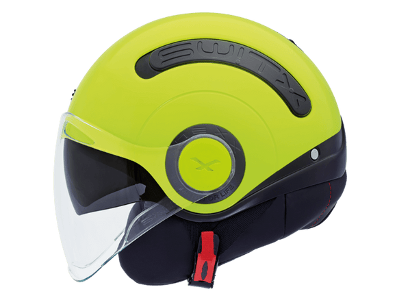 Nexx SX10 Switx Motorcycle Crash Helmet Motorbike Helmet Black / Neon Yellow NEXX01SX101003 01sx101003