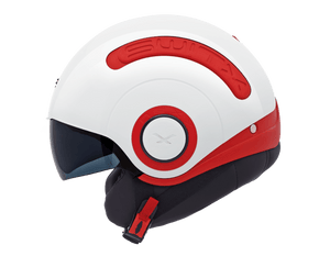 Nexx SX.10 Motorcycle Crash Helmet Motorbike Helmet Switx Red / White NEXX01SX104002 01sx104002