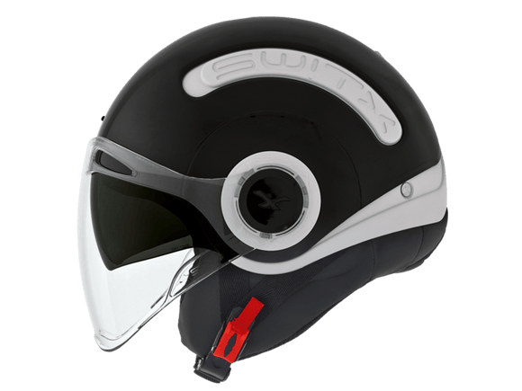 Nexx SX10 Switx Motorcycle Crash Helmet Motorbike Helmet White Black NEXX01SX100000 01sx100000