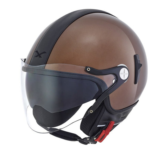 NEXX S X60 Cruise Chocolate Brown Black helmet 01x6028152