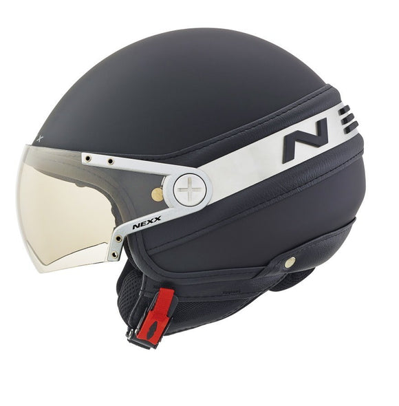 Nexx S X60 ICE black fabric motorcycle helmet 01x6001034