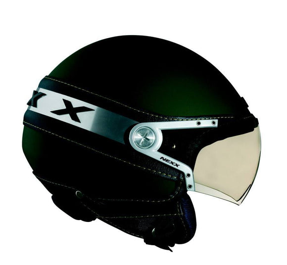 Nexx S X60 ICE military green helmet 01x6016034
