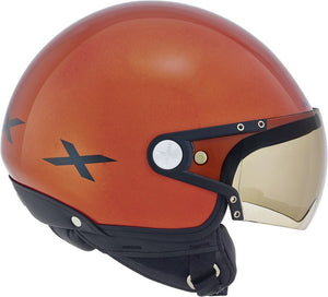 Nexx S X60 Rap Metal Orange Black motorcycle crash Helmet -01x6049032