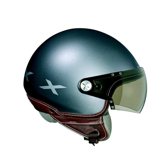 Nexx S X60 Rap Titanium Shiny Brown motorcycle crash Helmet -01x6008045