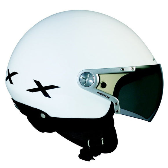 Nexx S X60 Rap White Black motorcycle crash Helmet -01x6000032