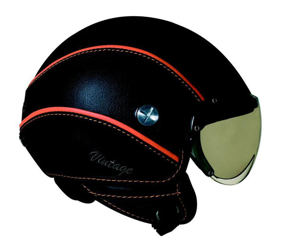 Nexx SX60 Vintage Black Soft Orange helmet 01x6011025