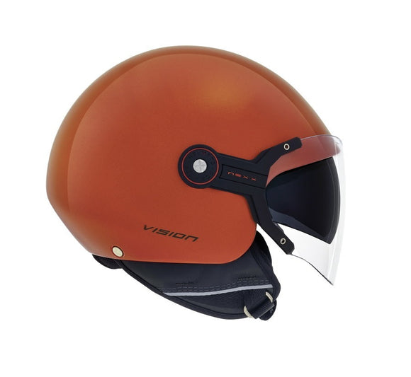 Nexx S X60 Vision Flex Metal Orange Helmet 01x6049143