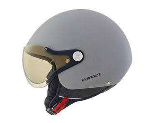 Nexx SX60 Vision Plus Concrete Light Helmet 01x6052139