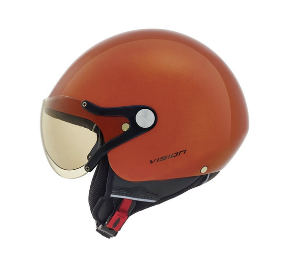 Nexx SX60 Vision Plus Metal Orange Helmet 01x6049139