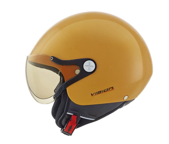 Nexx SX60 Vision Plus Yellow Retro Helmet 01x6040139