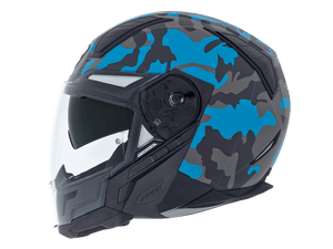 Nexx X40 Motorcycle Helmet Camo Full Face Scooter Motorbike Crash Helmet Blue MT Helmet NEXX01X4042059035 01x4042059035