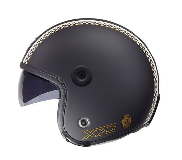 Nexx X70 Freedom Black Soft Helmet 01x7001007
