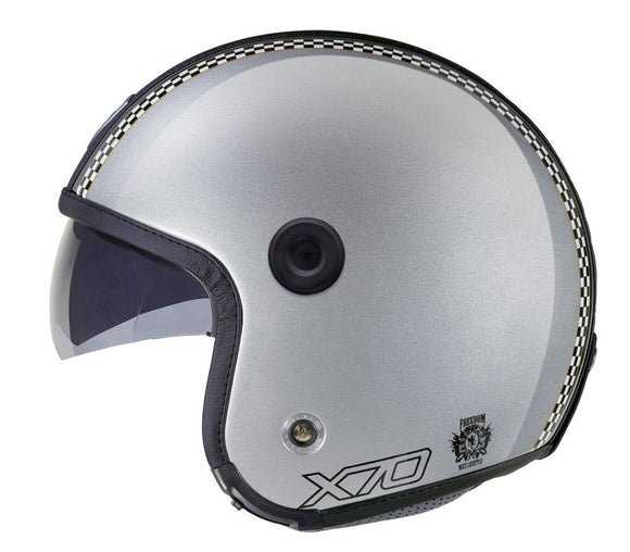Nexx X70 Freedom Grey Shiny Helmet 01x7002006