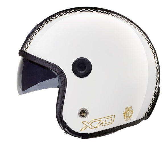 Nexx X70 Freedom White Shiny Helmet 01x7000006