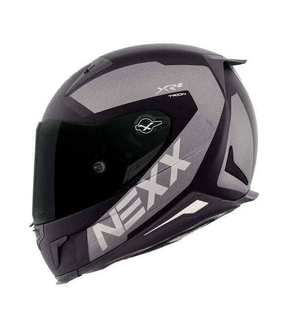 Nexx XR2 Trion Black MT Grey Helmet 01xr201019