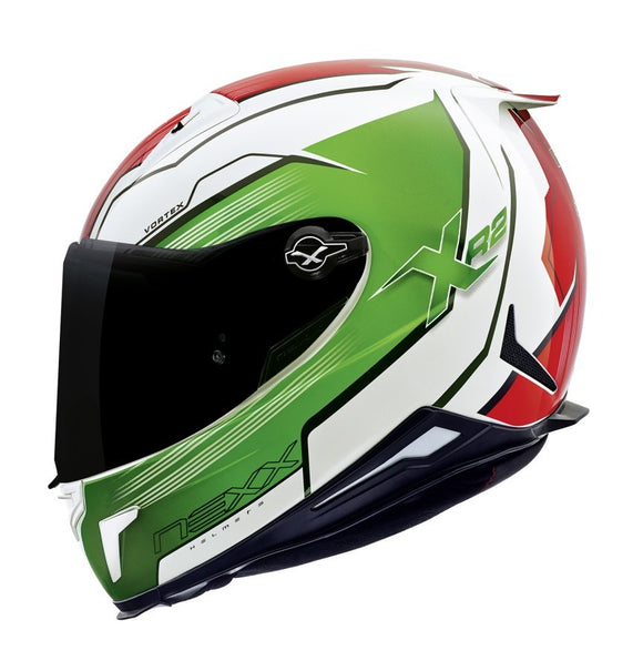 Nexx XR2 Vortex Green Helmet 01xr200010
