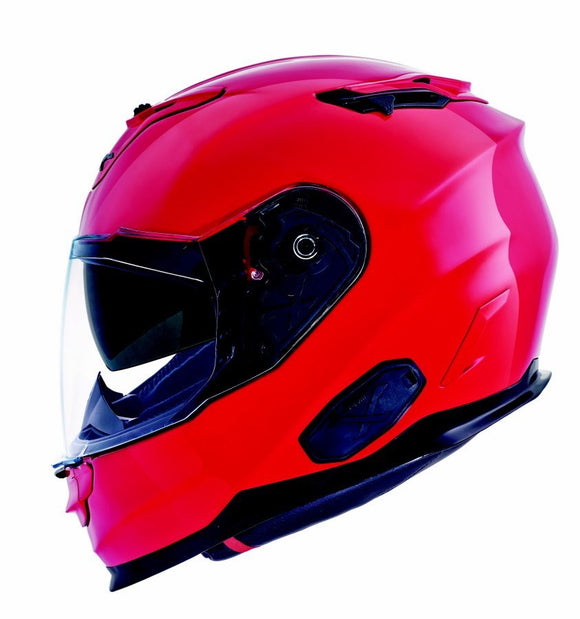 Nexx XT1 Plain Passion Red Motorcycle Helmet 01xt104001