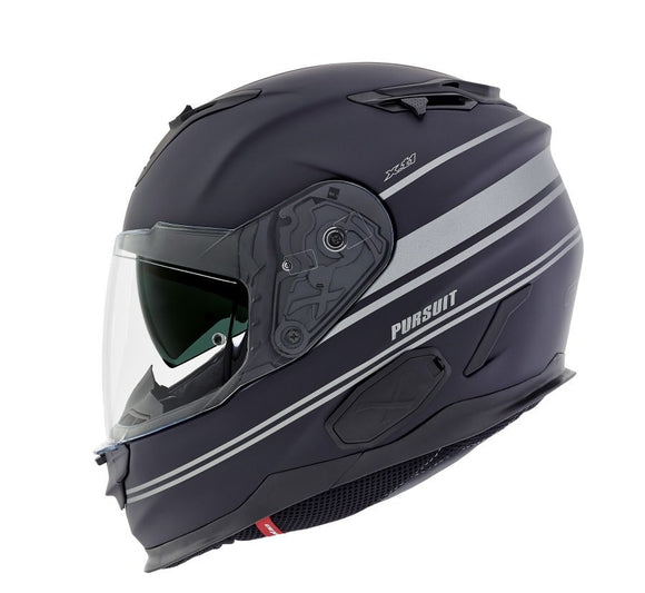 Nexx XT1 Pursuit Black MT Grey Motorcycle Helmet NEXX01XT101021 01xt101021