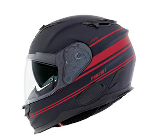 Nexx XT1 Pursuit Black MT Red Motorcycle Helmet NEXX01XT101018 01xt101018