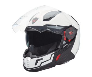 Nexx X40 Full Face Motorcycle Helmet Plain White Arctic Crash Helmet 01x4000000